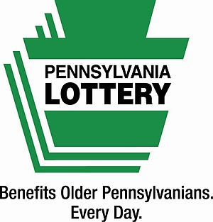 English: Pennsylvania Lottery official logo, w...