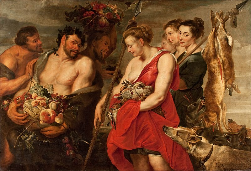 File:Peter Paul Rubens - Diana Presentig the Catch to Pan - WGA20291.jpg