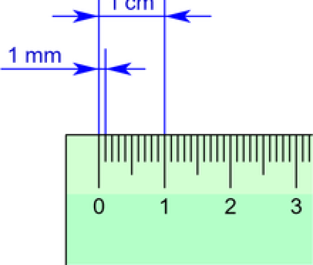 Ruler With Millimeter And Centimeter Marks Png