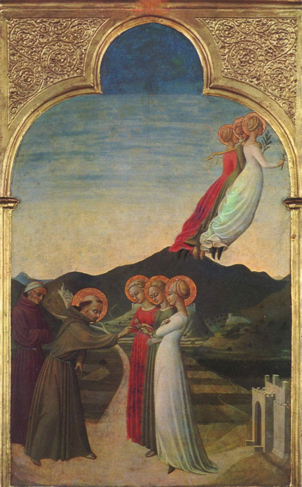 Mystic Marriage Of St Francis Sassetta Wikipedia