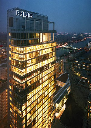 English: Head office of Philips at Amsterdam F...