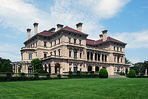 The Breakers, the summer home of Cornelius Van...