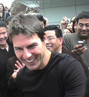 English: Tom Cruise in Sunnyvale, California