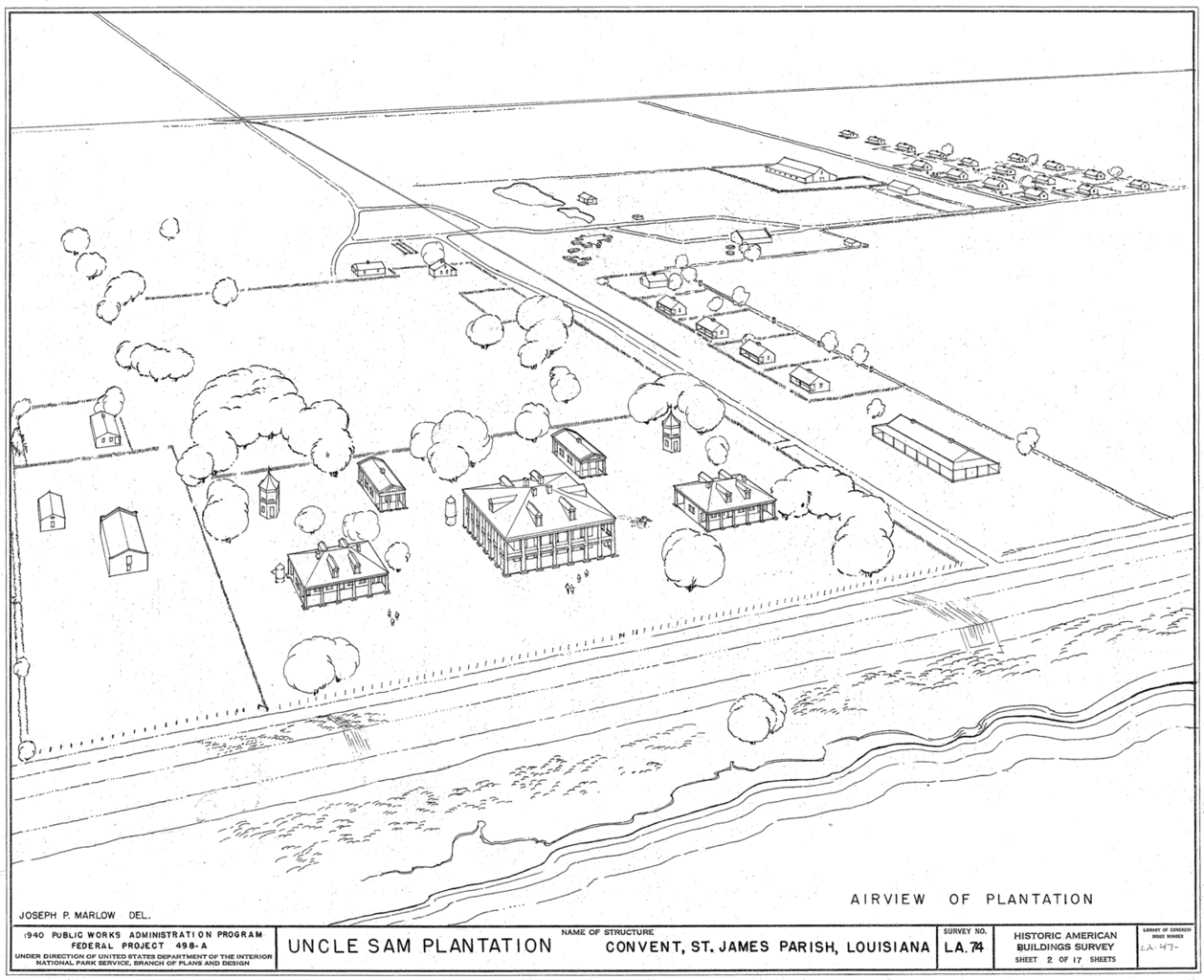 File:Aerial perspective drawing of Uncle Sam Plantation