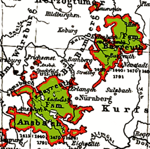 Region of Nuremberg, Ansbach, Kulmbach and Bay...