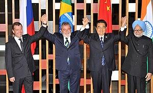 Brasília - O presidente da Rússia, Dmitri Medv...