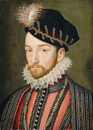Portrait of Charles IX of France