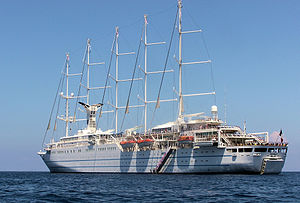 Club Med 2 is a 5-masted cruise ship owned by ...