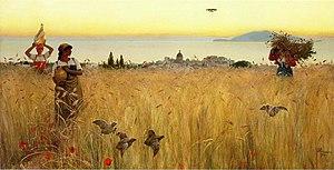Women in the Wheat Fields, Anacapri (painting)