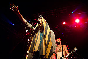 English: Crystal Fighters Band