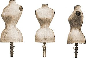 Dress forms of 1893