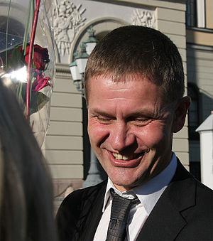 Erik Solheim SV utviklingsminister 20051017