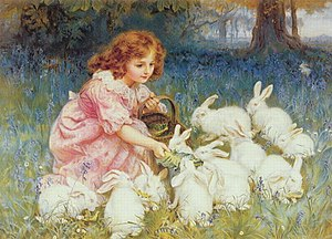 """Feeding the Rabbits"" also known as ..."
