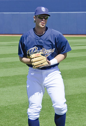 English: James Darnell in 2010 spring training.