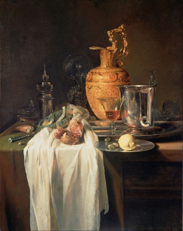 FileKalf Willem Still Life with Ewer Vessels and
