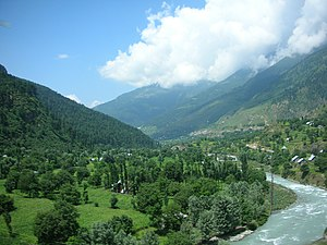 English: southern part of the Kashmir Valley, ...