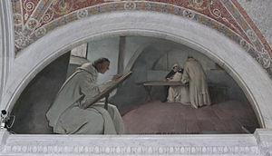 John White Alexander: The Manuscript scribes (...