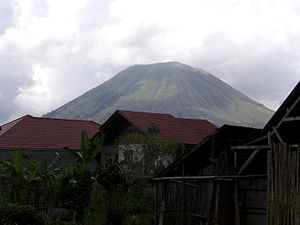 Mount Lokon, North Sulawesi, Indonesia