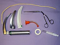 Matériel pour intubation