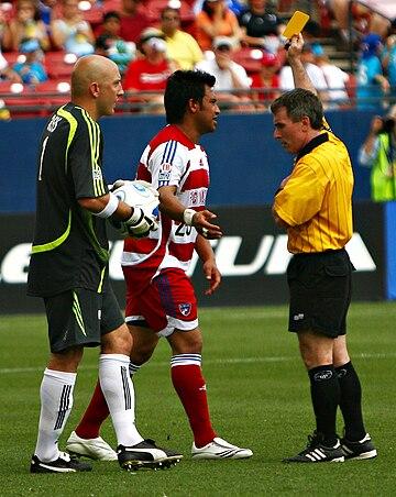 Penjaga Gawang Pada Permainan Sepak Bola Disebut : penjaga, gawang, permainan, sepak, disebut, Pelanggaran, Tindakan, Menyimpang, (sepak, Bola), Wikiwand