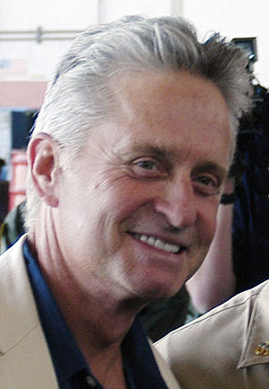 Michael Douglas '63, Oscar-winning actor, play...