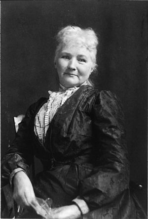 Mother Jones, American labor activist.