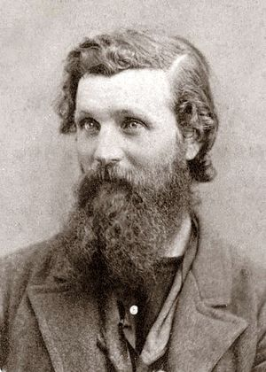 Portrait photo of John Muir