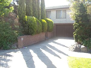 English: No. 26, Ramsay Street from TV show, N...