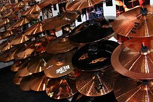 English: Paiste cymbals.