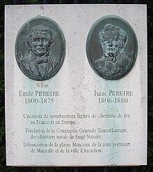 Frres Pereire Wikipdia