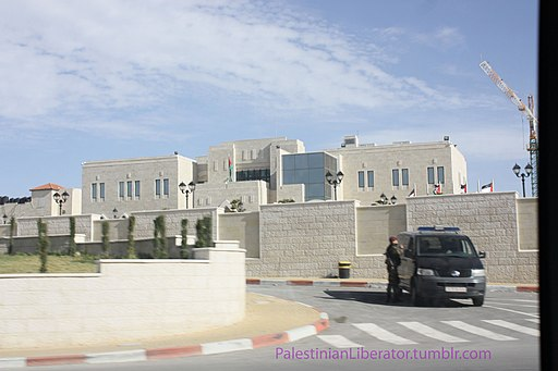 Collapse of the Palestinian Authority may start here - at the Presidential Compound in Ramallah