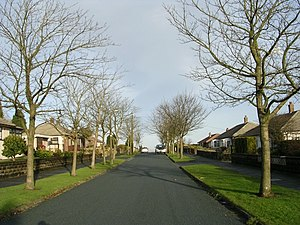 English: Stephen Road - Beacon Road