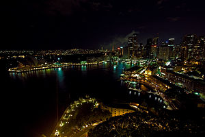 Earth Hour 2008 - Sydney, Australia cc-by- Eri...