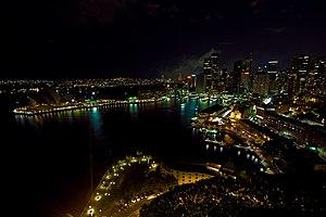 Earth Hour 2008 - Sydney, Australia cc-by- Eri...