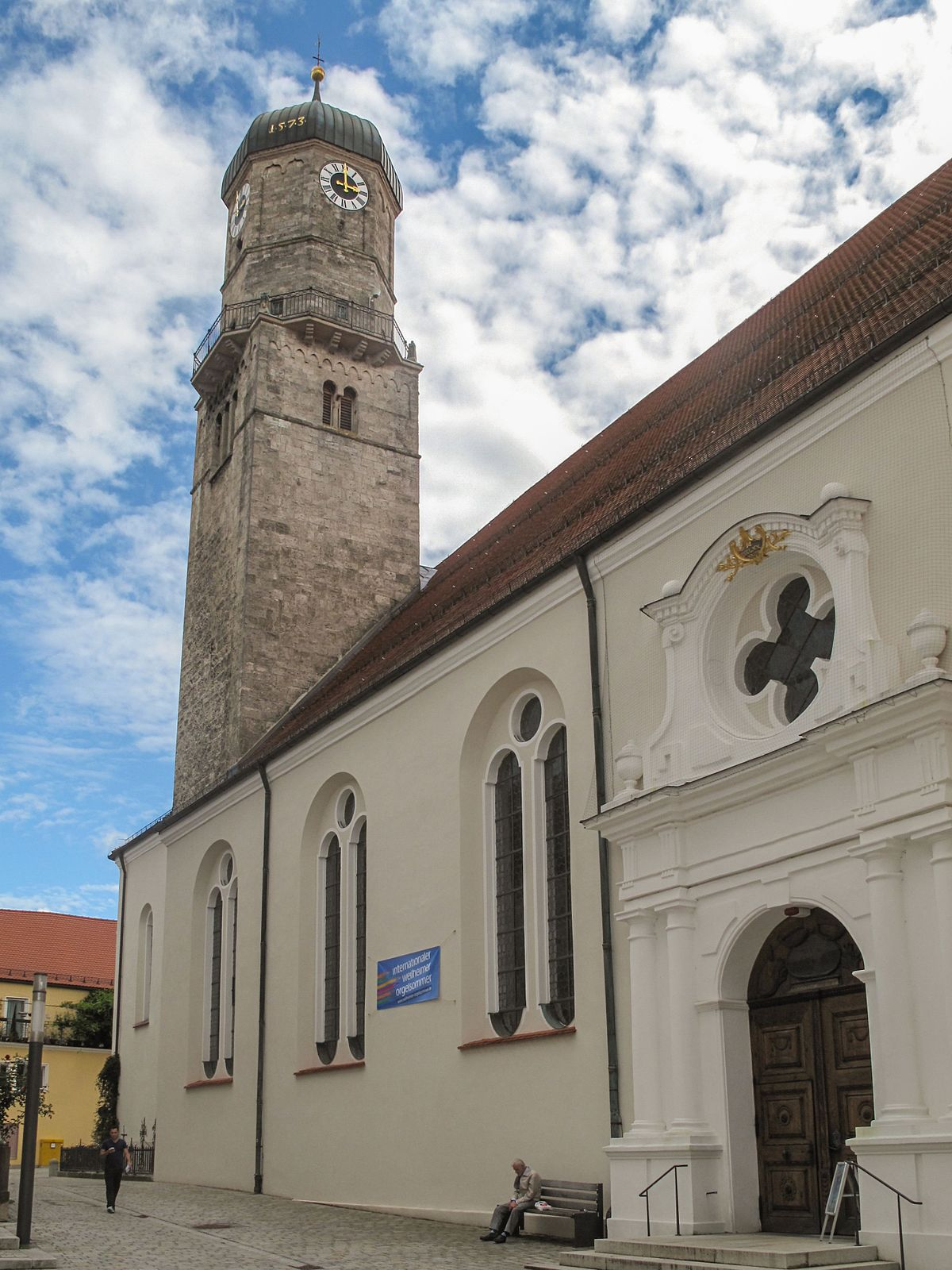 Stadtpfarrkirche Mari Himmelfahrt Weilheim  Wikipedia