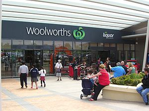 Woolworths in Chadstone