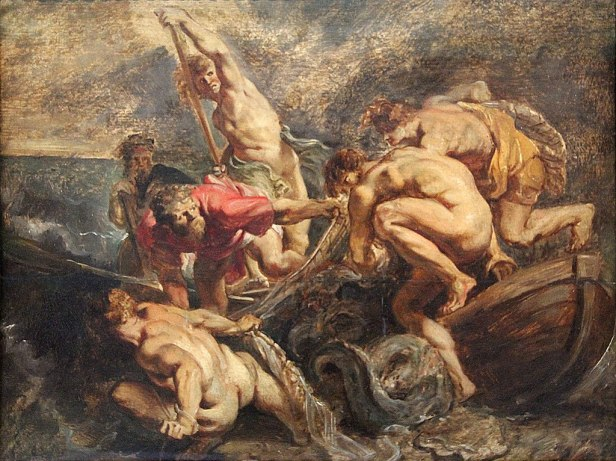 """Miraculous Catch of Fish"" by Peter Paul Rubens"