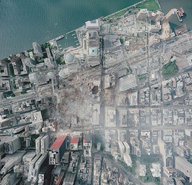 File:Aerial photo of WTC groundzero.jpg