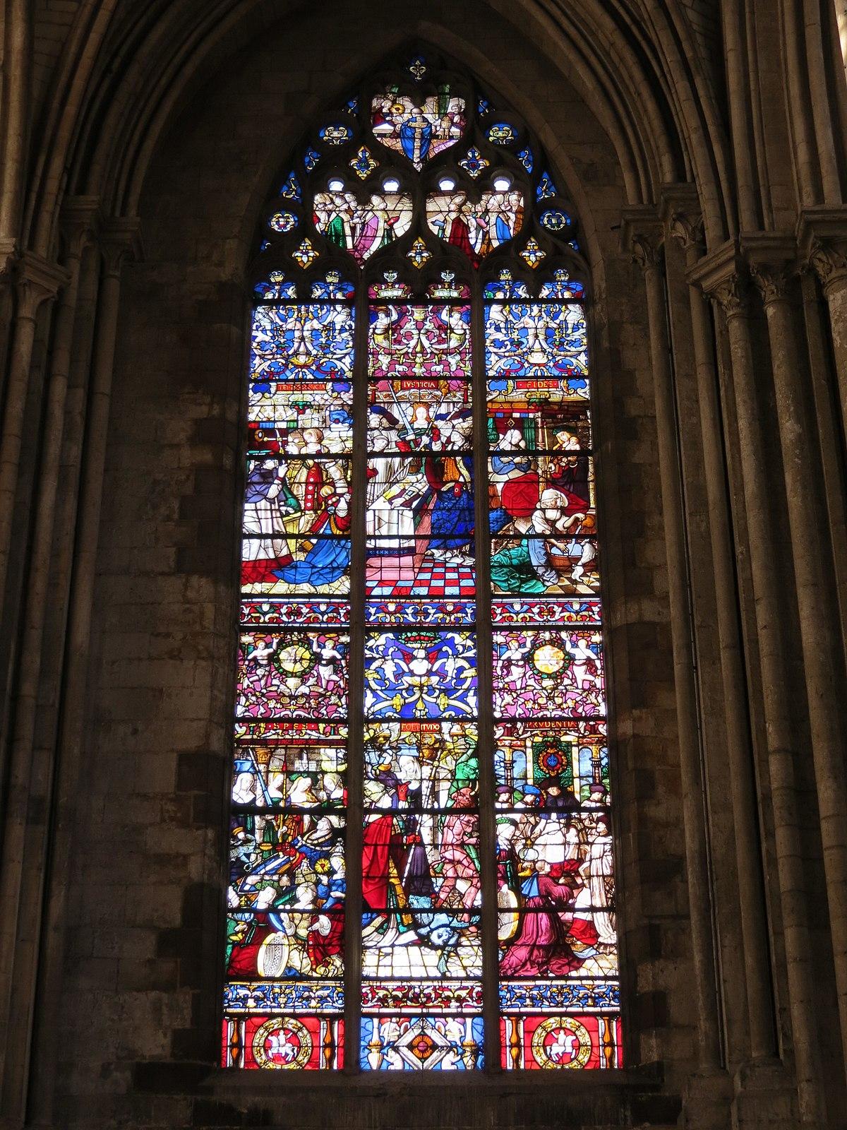 Vitraux de la cathdrale de Rouen  Wikipdia