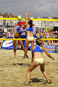 Peraturan dalam Bermain Voli Pantai - UKM Volley