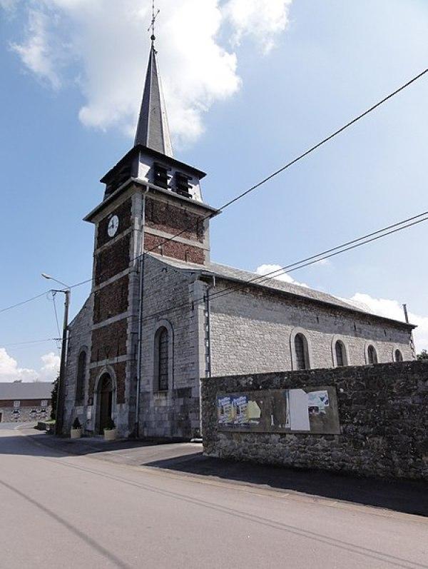 Fichier: Bousignies-sur-Roc (Nord, Fr) église, extérieur.jpg
