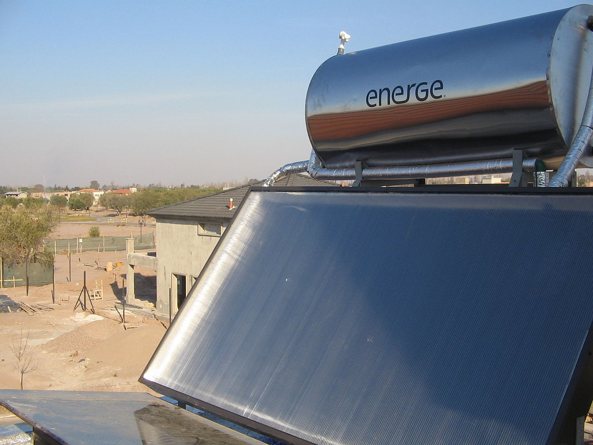 How Solar Water Heating Works A Diagram