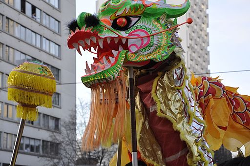Dragon - Chinese New Year, Paris, 2011n2