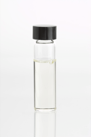 English: Glass vial containing Eucalyptus Radi...
