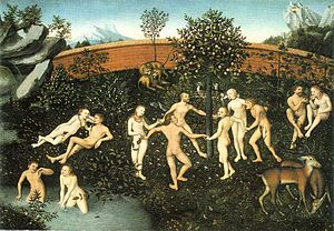 The Golden Age by Lucas Cranach the Elder.