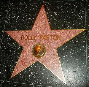 Español: Estrella de Dolly Parton.