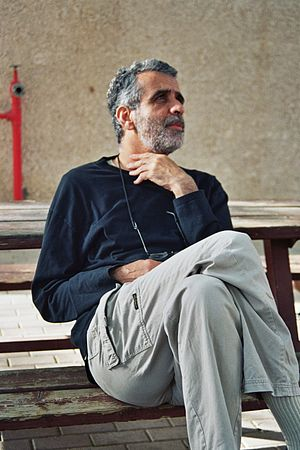 prof. Israel finkelstein at Sde Boker