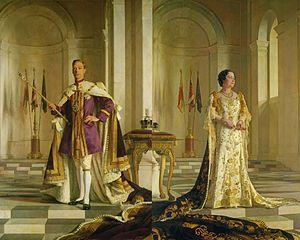 Incoronazione Di Re Giorgio VI E Della Regina Elisabetta