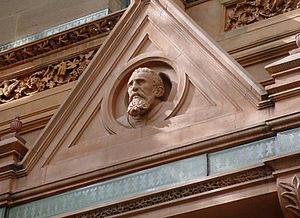 English: Art image the portrait of Michelangel...