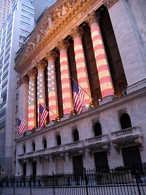 English: The New York Stock Exchange